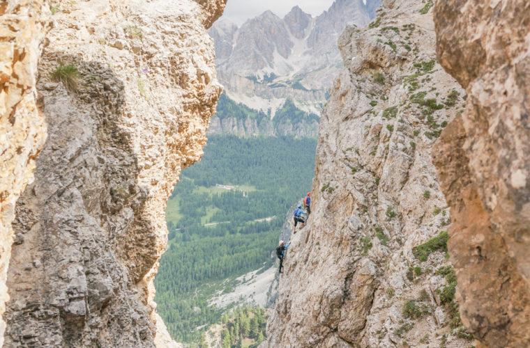 via ferrata sci club 18 Klettersteig Alpinschule Drei Zinnen (29)