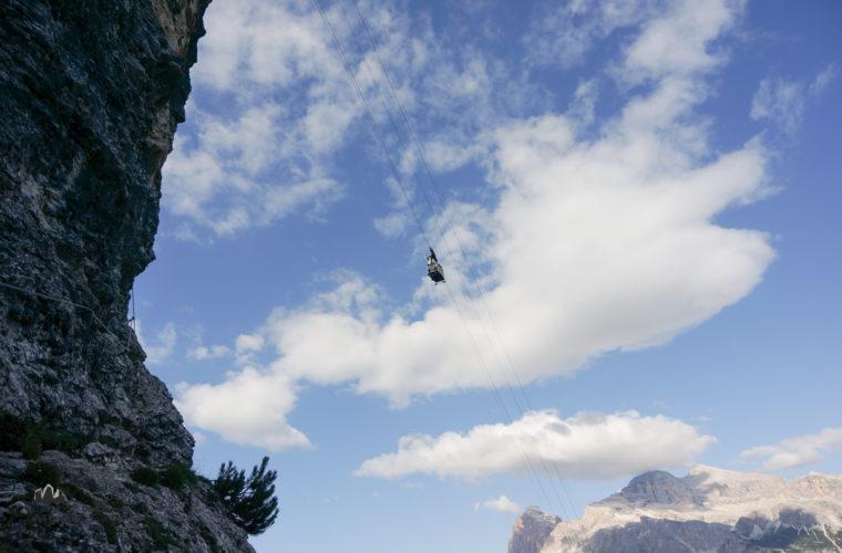 via ferrata sci club 18 Klettersteig Alpinschule Drei Zinnen (4)