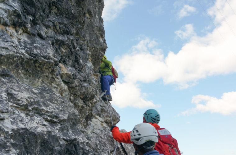 via ferrata sci club 18 Klettersteig Alpinschule Drei Zinnen (5)
