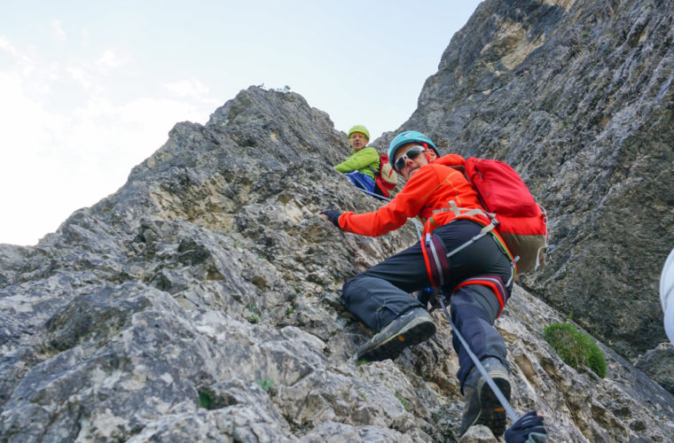 via ferrata sci club 18 Klettersteig Alpinschule Drei Zinnen (6)