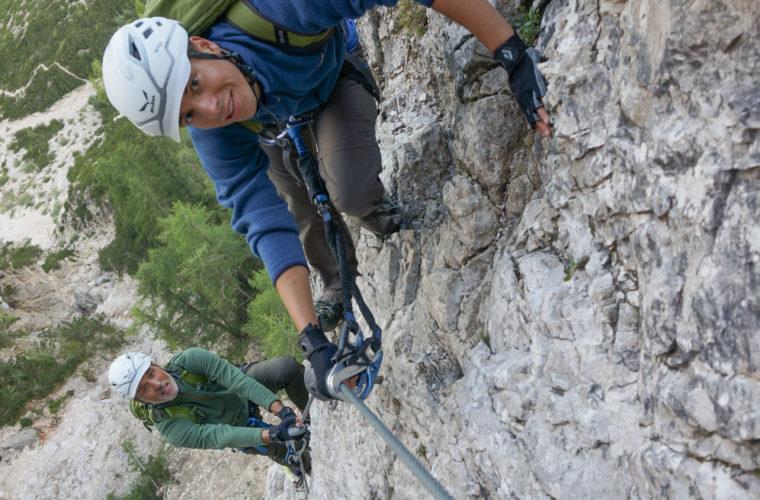 via ferrata sci club 18 Klettersteig Alpinschule Drei Zinnen (7)