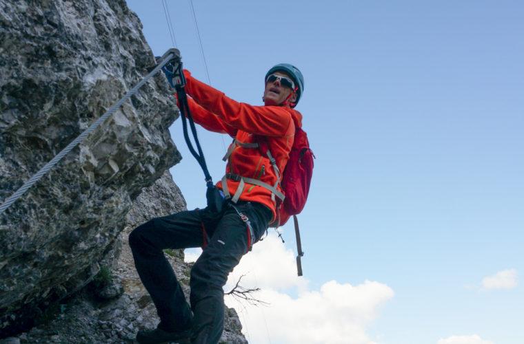via ferrata sci club 18 Klettersteig Alpinschule Drei Zinnen (8)