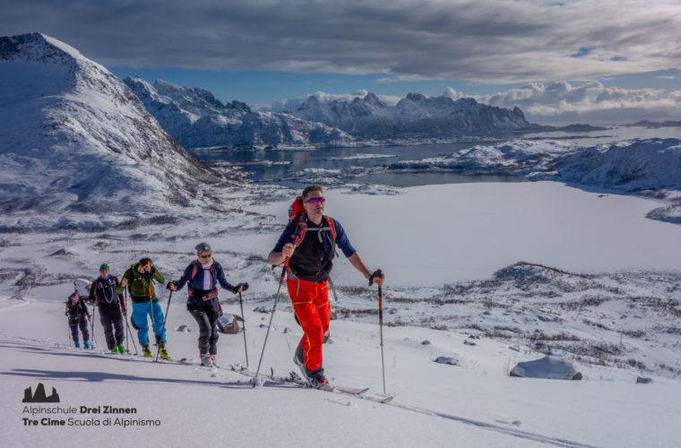 Lofoten Alpinschule Drei Zinnen Skitour - Skitouring (10)