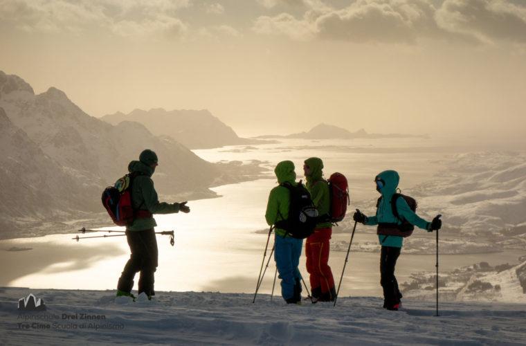 Lofoten Alpinschule Drei Zinnen Skitour - Skitouring (13)