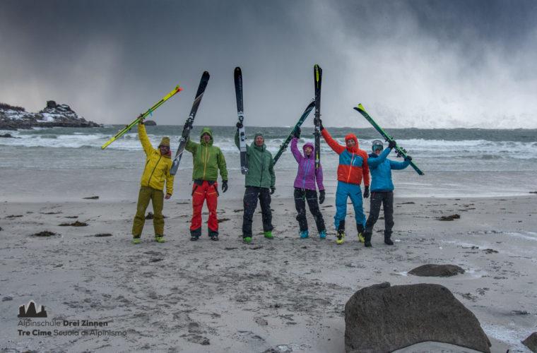 Lofoten Alpinschule Drei Zinnen Skitour - Skitouring (15)