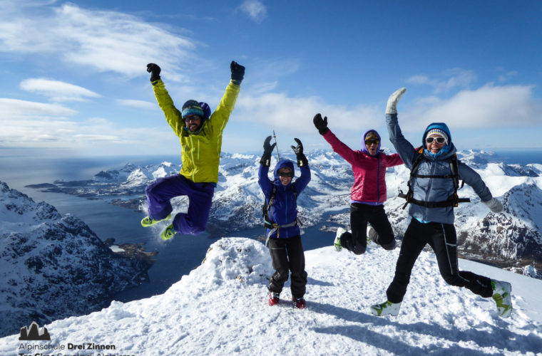 Lofoten Alpinschule Drei Zinnen Skitour - Skitouring (2)
