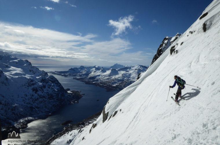 Lofoten Alpinschule Drei Zinnen Skitour - Skitouring (3)