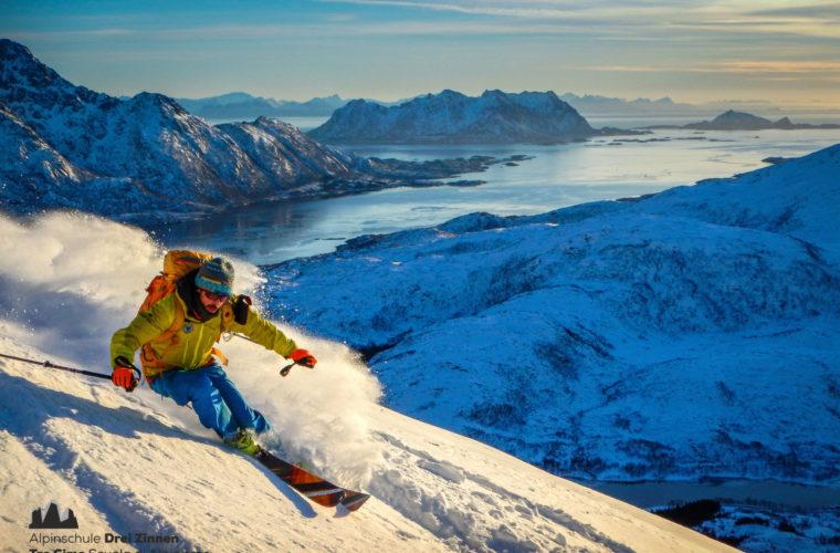 Lofoten Alpinschule Drei Zinnen Skitour - Skitouring (9)