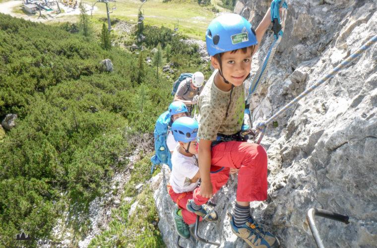 Klettersteig Pomedes Ra Pegna ferrata -3