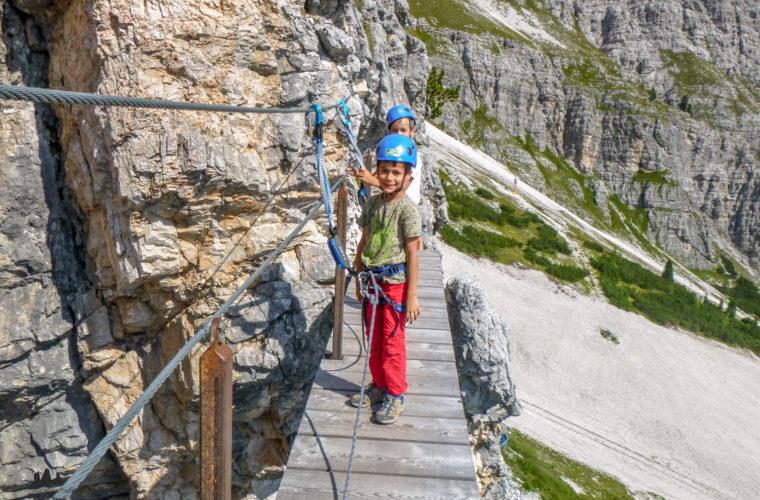 Klettersteig Pomedes Ra Pegna ferrata -4