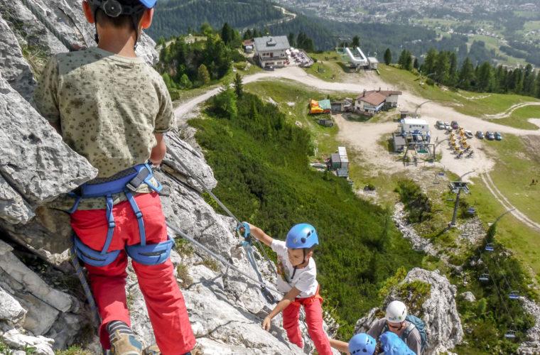 Klettersteig Pomedes Ra Pegna ferrata -5