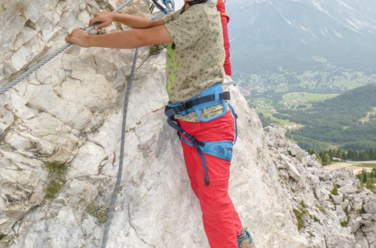 Klettersteig Pomedes Ra Pegna ferrata -6