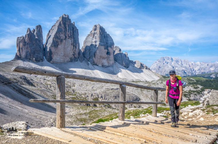Wandern - camminate - hiking Alpinschule Drei Zinnen Tre Cime-1