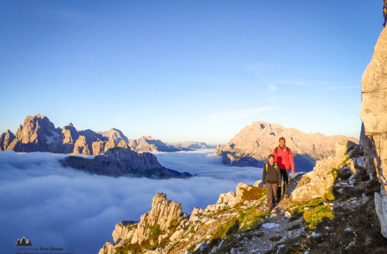 Wandern - camminate - hiking Alpinschule Drei Zinnen Tre Cime-3