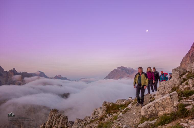 Wandern - camminate - hiking Alpinschule Drei Zinnen Tre Cime-6