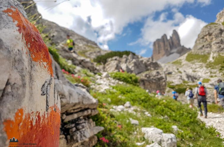 Wandern - camminate - hiking Alpinschule Drei Zinnen Tre Cime-9