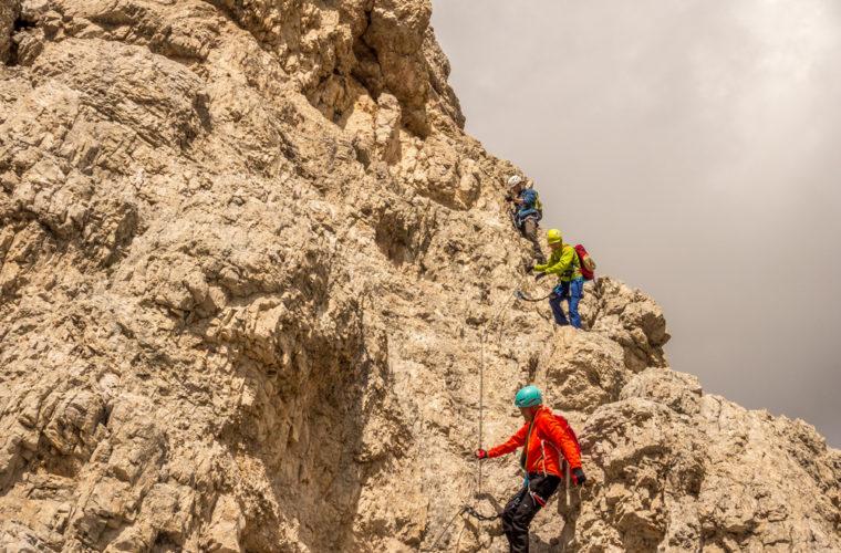 Klettersteig Tomaselli via ferrata-12