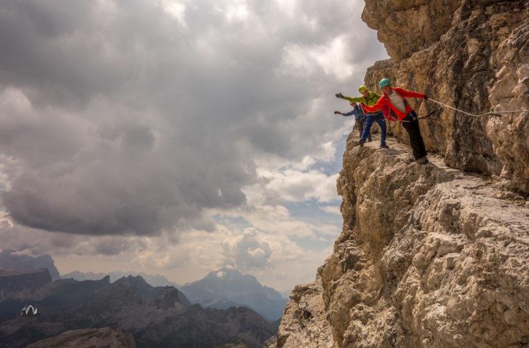 Klettersteig Tomaselli via ferrata-13
