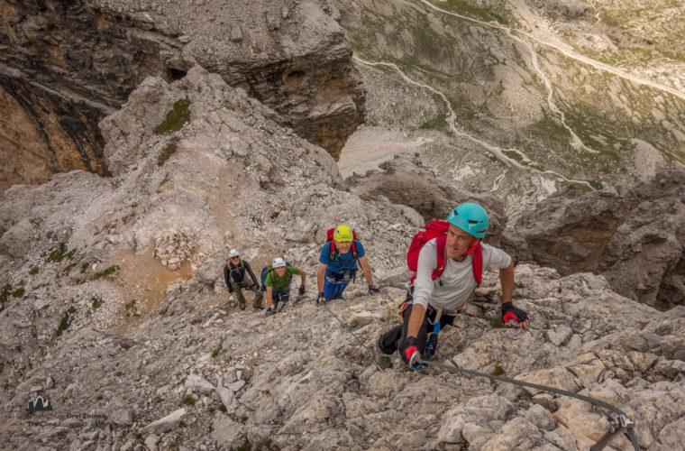 Klettersteig Tomaselli via ferrata-3