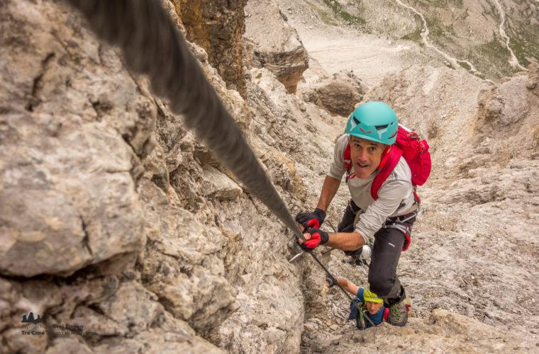Klettersteig Tomaselli via ferrata-5