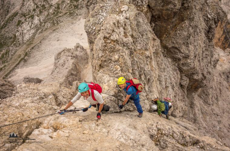 Klettersteig Tomaselli via ferrata-6