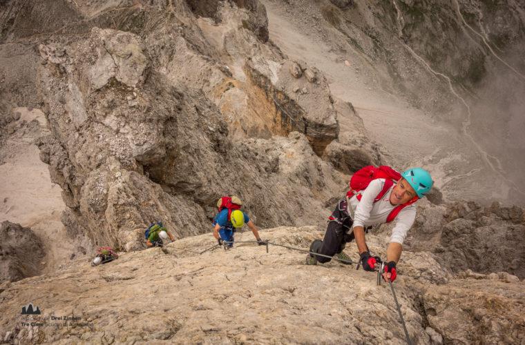Klettersteig Tomaselli via ferrata-7