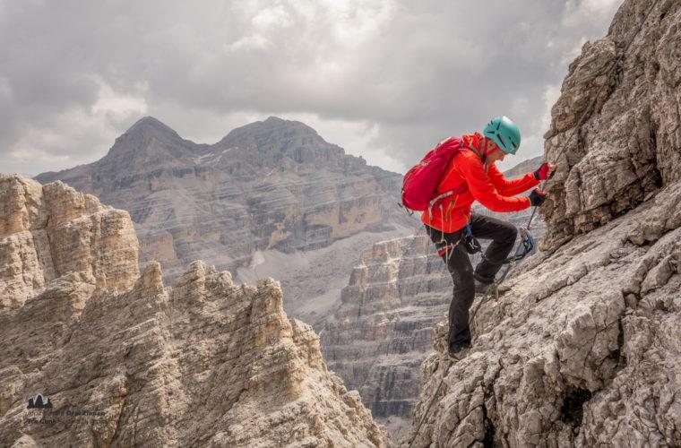 Klettersteig Tomaselli via ferrata-9