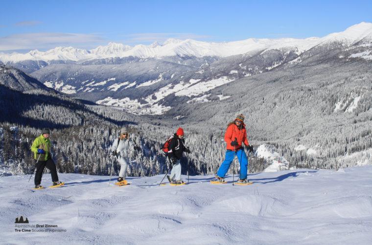 Schneeschuhwanderung - Ciaspolata - snowshow hiking-10