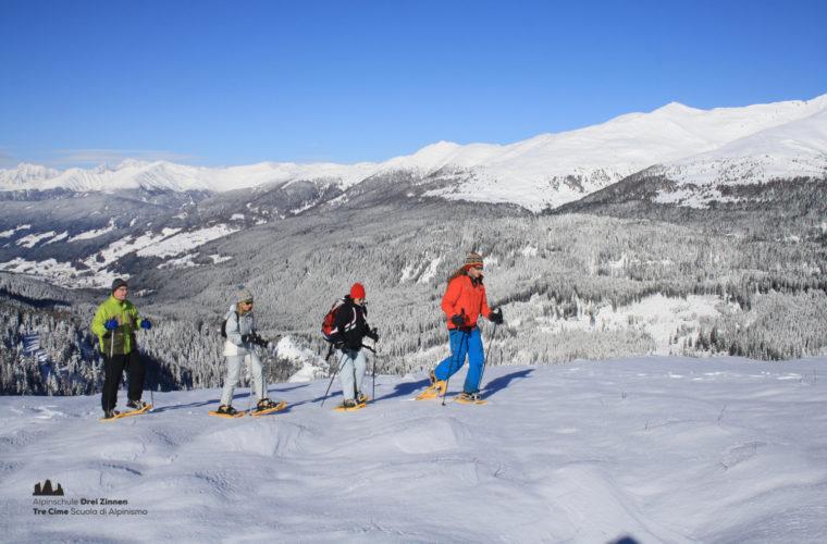 Schneeschuhwanderung - Ciaspolata - snowshow hiking-11