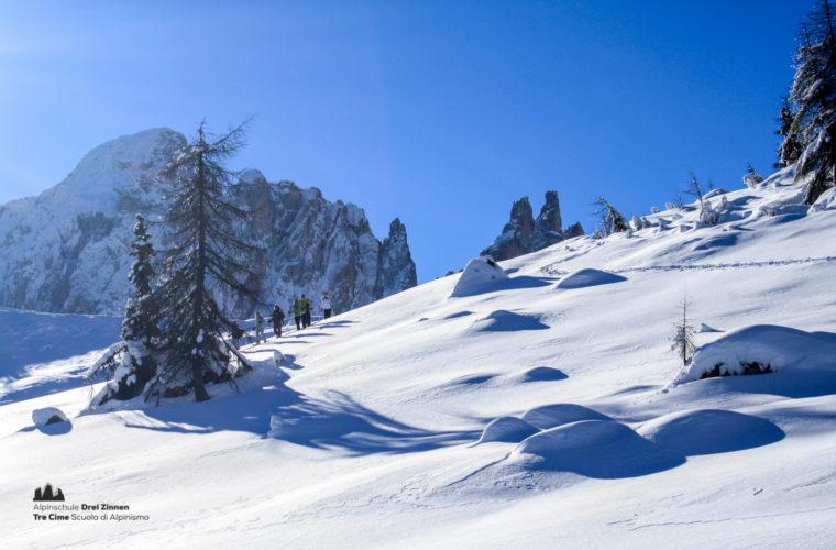 Schneeschuhwanderung - Ciaspolata - snowshow hiking-12