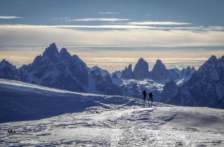 Schneeschuhwanderung - Ciaspolata - snowshow hiking-21