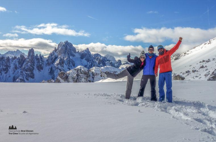 Schneeschuhwanderung - Ciaspolata - snowshow hiking-26