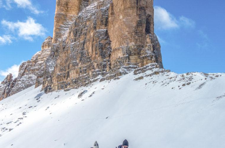 Schneeschuhwanderung - Ciaspolata - snowshow hiking-27