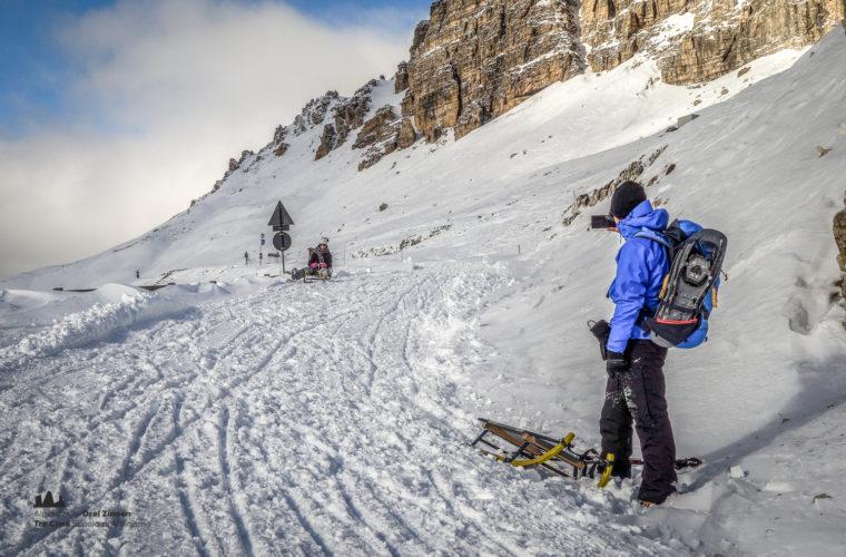 Schneeschuhwanderung - Ciaspolata - snowshow hiking-29