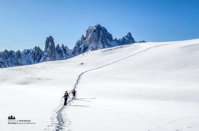 Schneeschuhwanderung - Ciaspolata - snowshow hiking-32