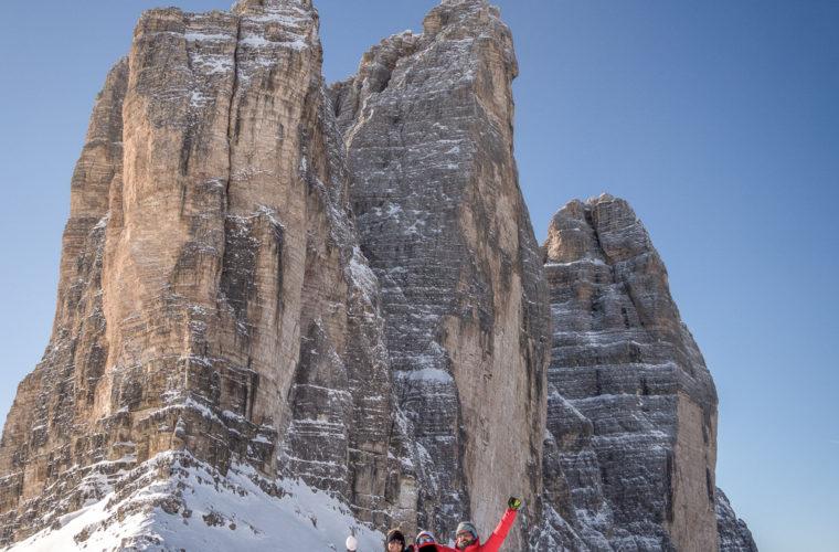 Schneeschuhwanderung - Ciaspolata - snowshow hiking-33