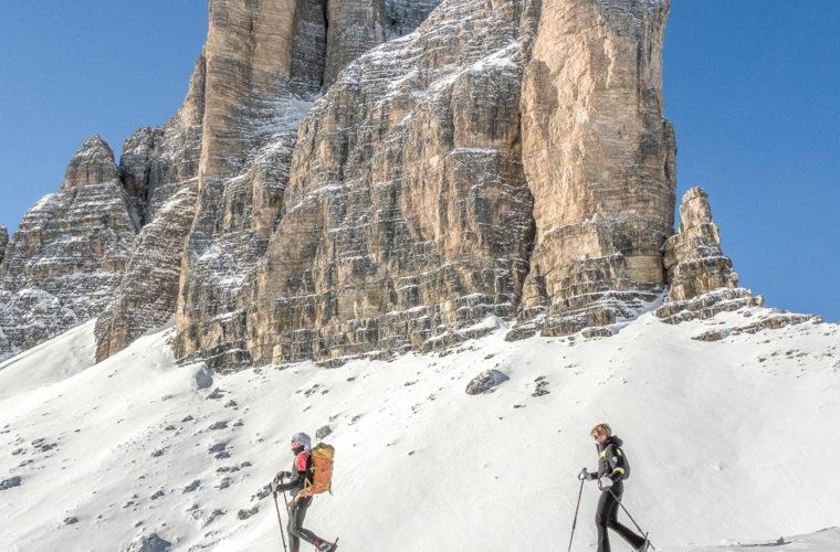 Schneeschuhwanderung - Ciaspolata - snowshow hiking-34