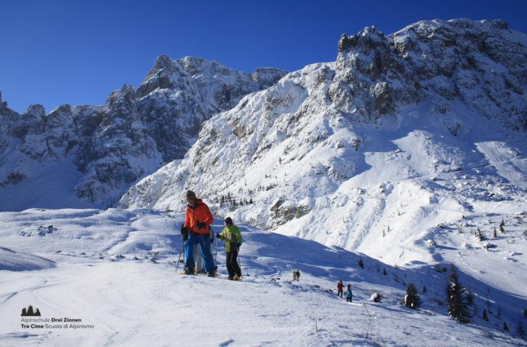 Schneeschuhwanderung - Ciaspolata - snowshow hiking-8