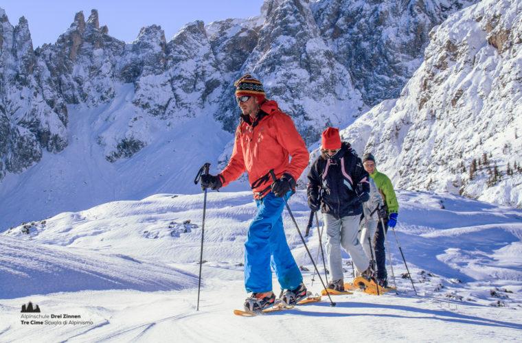 Schneeschuhwanderung - Ciaspolata - snowshow hiking-9
