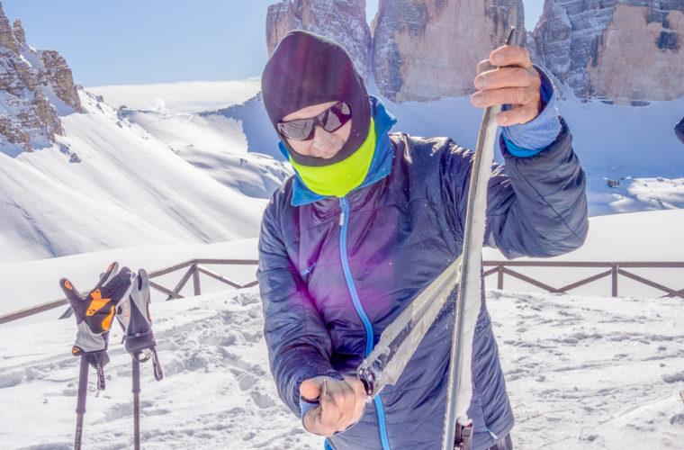 Skitour - sci d'alpinismo Sextnerstein Sasso di Sesto-14