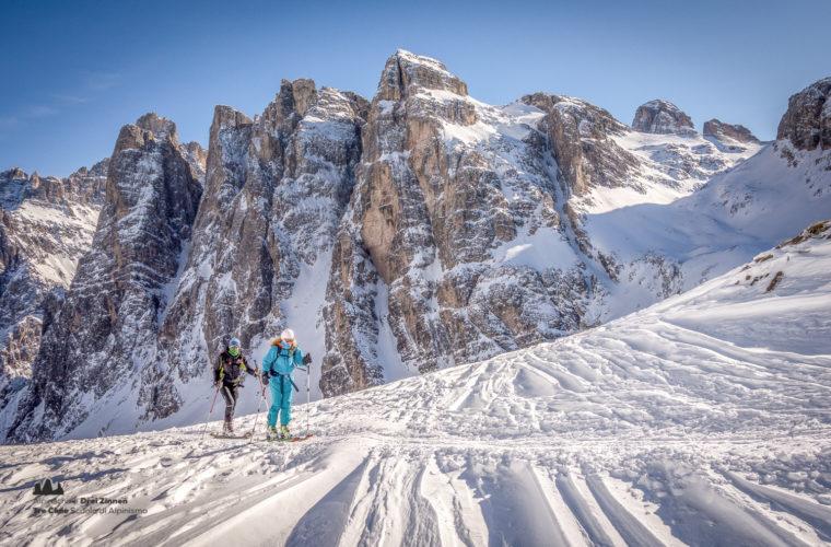 Skitour - sci d'alpinismo Sextnerstein Sasso di Sesto-3