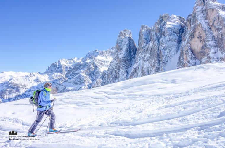 Skitour - sci d'alpinismo Sextnerstein Sasso di Sesto-6