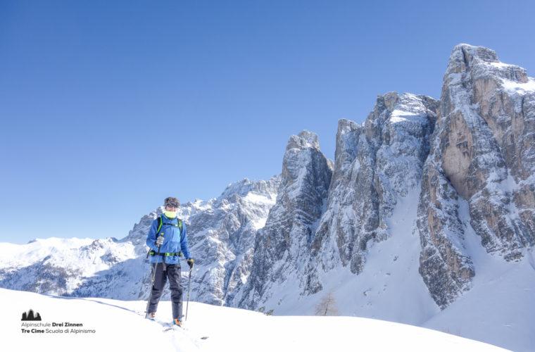 Skitour - sci d'alpinismo Sextnerstein Sasso di Sesto-7
