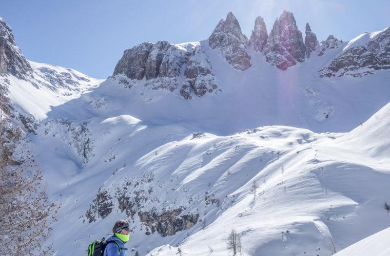 Skitour - sci d'alpinismo Sextnerstein Sasso di Sesto-8