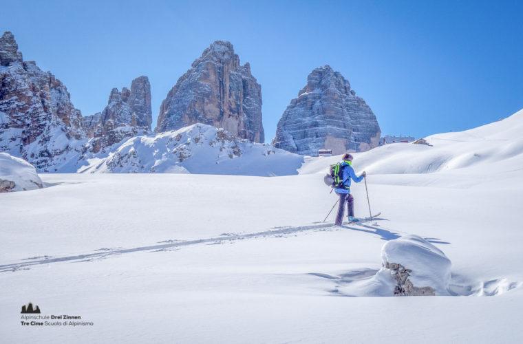 Skitour - sci d'alpinismo Sextnerstein Sasso di Sesto-9