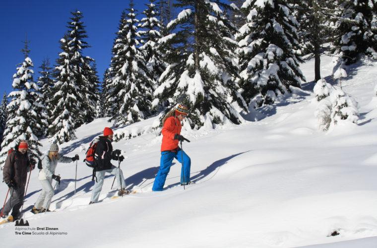 Schneeschuhwanderung - Ciaspolata - snowshow hiking-14