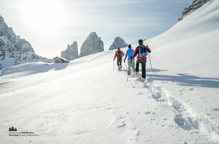 Schneeschuhwanderung - Ciaspolata - snowshow hiking-15