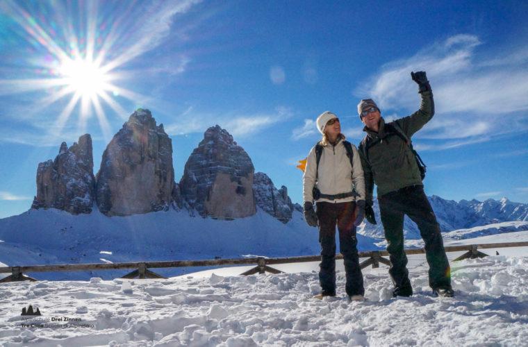 Schneeschuhwanderung - Ciaspolata - snowshow hiking-16