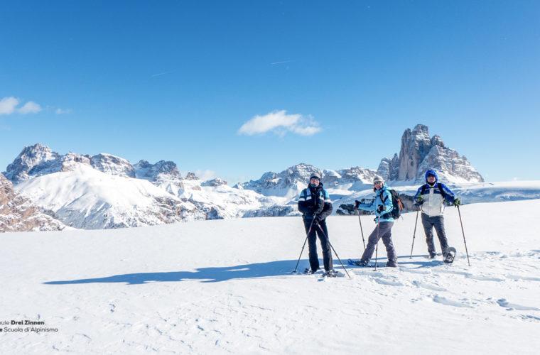 Schneeschuhwanderung - Ciaspolata - snowshow hiking-38
