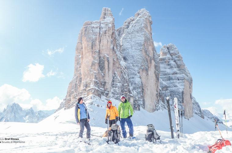 Skitour - sci d'alpinismo Dolomitendurchquerung-77